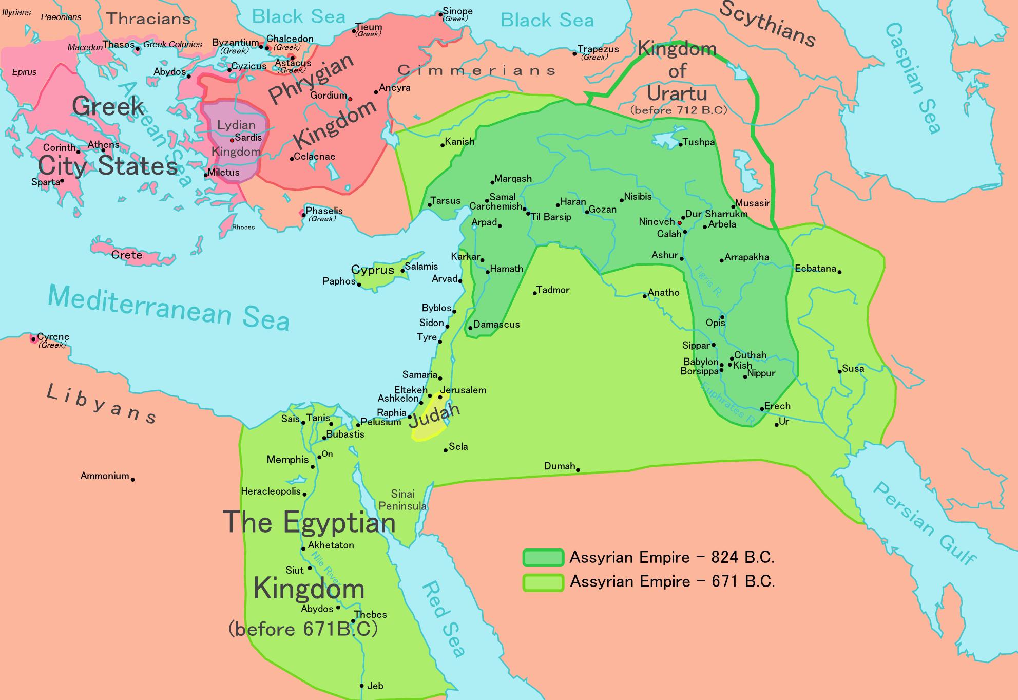 Климат повлиял не только на упадок, но и на зарождение Ассирийской империи