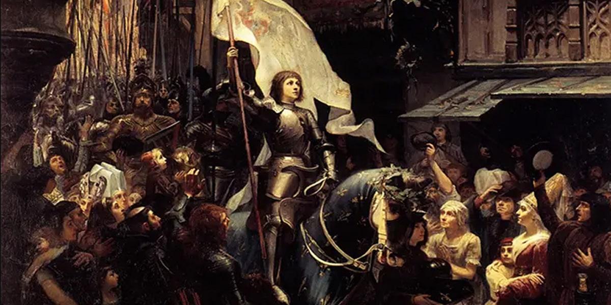За что сожгли Жанну д'Арк?