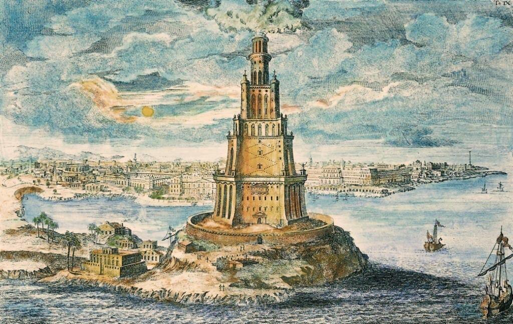 Александрийский маяк: утерянное чудо света