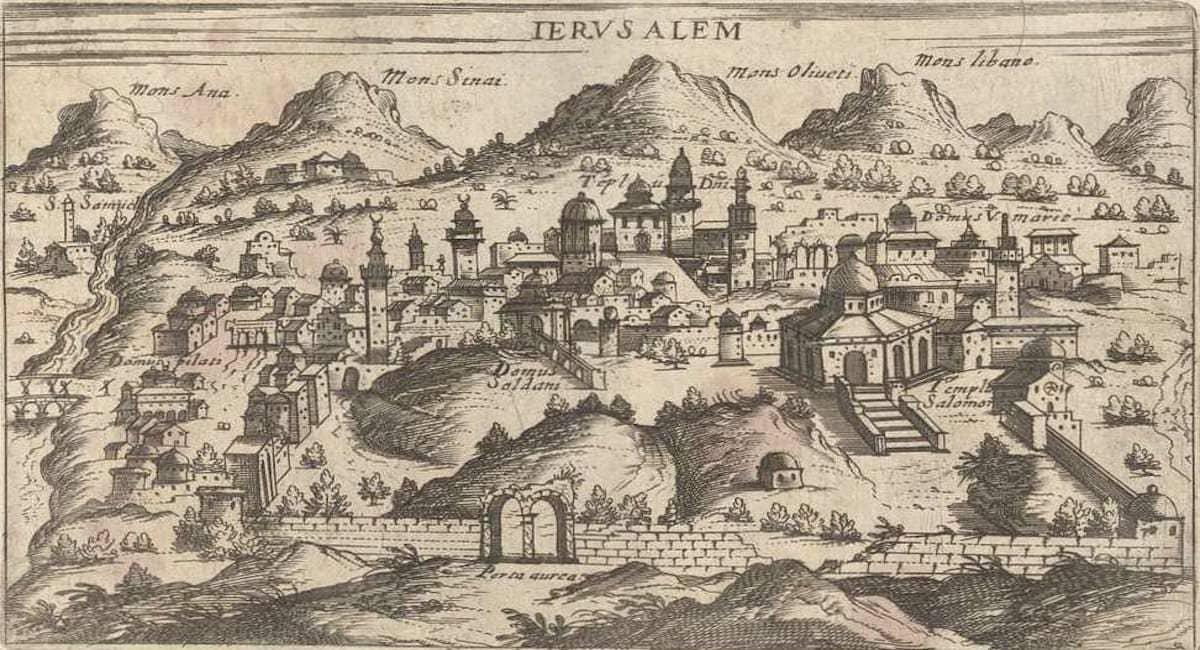 Подземелья Иерусалима