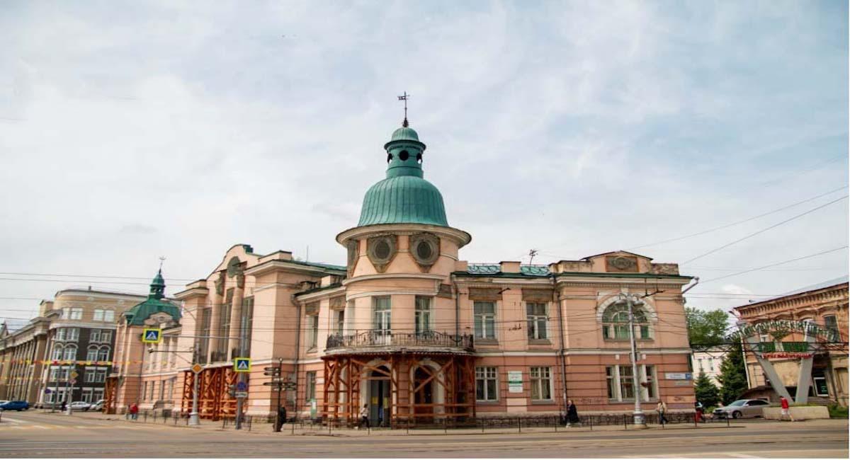 Памятная архитектура бывшего Русско-азиатского банка